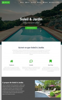 Soleil et Jardin